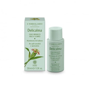 L'Erbolario DELICALMA OLIO BIFASICO VISO E CORPO 30 ML Two-phase Face and Body Oil Nourishment & Relief For sensitive skin