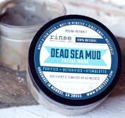 rinse bath & body dead sea mud facial mask purifies detoxifies stimulates 240ml