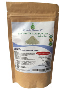 Cosmic Element Bentonite clay powder 100% Pure & Unrefined 120ml Premium Food Grade Calcium Bentonite Clay - Heavy Metal Detox and Cleanse