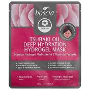 Boscia Tsubaki Oil Deep Hydration Hydrogel Mask 1 Mask 35ml Single Use Sheet