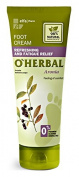 elfa Pharm O'HERBAL REFRESHING & FATIGUE RELIEF Refreshing and Fatigue Relief Foot Cream with Aronia Extract 75ml/2.54oz