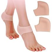 YABINA Heel Protector Unisex Silicone Moisturising Heel Sock Cracked Skin Pain Relieve Pedicure