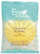 Eco Botanics Chamomile & Honey Moisturising Body Bar 30ml, Set of 22 bars