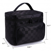 Ac.y.c Big Szie Nylon Travel Toiletry Bag Cosmetic Makeup Pouch Case Organiser for Travel