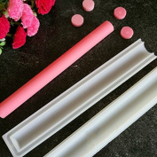 Echodo Round Tube Column Silicone Soap Candle Mould Embed Soap Making Supplies Silicone Mould for Soap