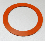 7.6cm SILICONE GASKET FOR VACUUM CASTING PERFORATED FLASKS jewellery LOST WAX CASTING