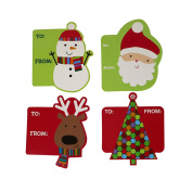 Garvin Peel And Stick Cardstock Holiday Gift Tags - 72-Count