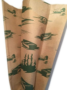Nature Inspired GREAT OUTDOORS Printed Tissue Paper for Gift Wrapping, 24 Large Sheets, 20x30