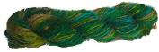 Knitsilk Iconic Greenish Multi Sari Silk Yarn -