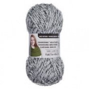 Loops & Threads Charisma Heather Yarn - Light Grey - 90ml - One Ball