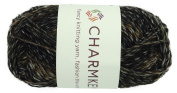 Charmkey Wool Origin Baby Yarn Super Soft 4 Worsted Natural Wool Cotton Nylon Blend 4-ply Tweed Thick Knitting Yarn for Garment Scarf Hat and Craft Project, 1 Skein, 100ml