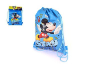 Sachet with Handle Rope Measures 28 x 36 cm Mickey Design