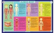 Tot Talk Human Body Placemat