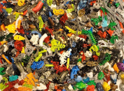 0.5kg LEGO Technic BIONICLE PIECES ~ BODY PARTS Weapons Masks ~ Random Lot EUC