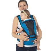 Baby Carrier - Advanced Lumbar Support, 2 in 1 Ultra Comfort & Ergonomics, 4 months . SALE--blue
