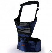 Omelo Baby carrier With Hip Seat, New Design Breathable Style, Perfect for Baby, Toddlers and Infants