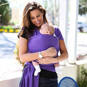 Soft Baby Sling Wrap Carrier Hands Free Pure Cotton/Spandex Suitable for Newborns To 16kg Compact and Comfortable Baby Wraps