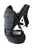 MiaMily HIPSTER+ Child & Baby Carrier, Perfect 360 Backpack Alternative for Hiking with 9 Carrying Positions and Ergonomic Design with Hip Protection for Toddler or Infant