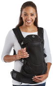 Contours Love 3-in-1 Baby & Child Carrier with 3 Seating Positions, Easy to Wear Front Buckles, Extra-wide Padded Shoulder Straps, Black