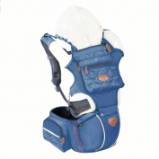 Ergonomic Baby Carrier, Backpack, and Hip Seat with 5-in-1 Positions
