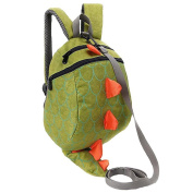 Baby Anti Lost Backpack with Leash,Bhbuy Dinosaur Walking Safety Harness Schoolbag for Toddlers, Babies & Kids