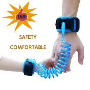 [Enhancement] Child Anti Lost Belt, Safe Skin Friendly Anti Pricking Cotton Wrist Straps