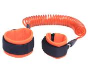 EasyDu Anti Lost Wrist Strap Safety Hook and loop Wrist Link Walking Leash for Baby Kids Toddlers