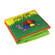 Yoyorule Soft Cloth Baby Kids Intelligence Development Learn Picture Cognize Book