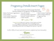 Tessera Baby Books Baby Memory Book Insert Pack, Pregnancy Details