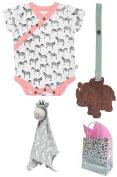 100% Organic Safari Baby Shower Gift Set--3 Item Bundle