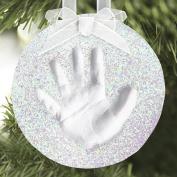 Baby's Handprint Glitter Ornament Kit