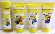 MINIONS BANANA SCENTED BODY WASH SHAMPOO LOTION BUBBLE BATH SHOWER MINION FUN