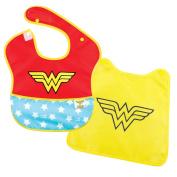 Bumkins DC Comics SuperBib with Cape, Wonder Woman