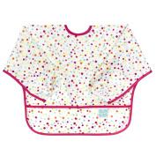 Bumkins Waterproof Sleeved Bib, Confetti