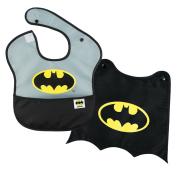 Bumkins DC Comics SuperBib with Cape, Batman