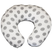 Premium Nursing Pillow Cover | Etched Polka Dot Slipcover | Best for Breastfeeding Moms | Soft, Breathable Fabric Fits Snug On Nursing Pillows to Aid Mothers While Breast Feeding | Baby Shower Gift