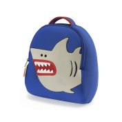 Dabbawalla bags Shark Backpack, Blue/Silver