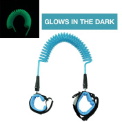 JINSEY Glows In The Dark Safety Child Anti Lost Wrist Link Harness Strap Rope Leash Walking Hand Belt