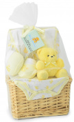 Big Oshi Baby Essentials Gift Basket 9-Piece Layette Set Infant up to 0-6 Months - Yellow