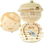 PAMBO Tooth Fairy Box Keepsake For Boys & Girls | Great Baby Shower Gift