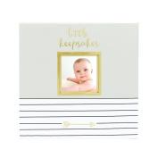 Pearhead Baby Memories Keepsake Box, Grey