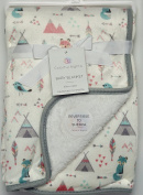 Micasa Edition Colourful Night Soft Baby Blanket Reversible to Sherpa