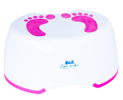 Babies and Kids Step Stool | Stepping Stool for kids | Toddler Toilet Training with Step Stool | Anti-Slip Foot Stool (Pink) | 2 eBOOKS for free!!!
