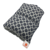 Pello Comfy Cradle - Slip-on Arm Pillow for Baby Nursing - Reversible, Adjustable, Washable, Durable, Majestic/ Grey