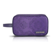 Travel / Cosmetic Makeup Ladies Clutch Toiletry Bag Purple