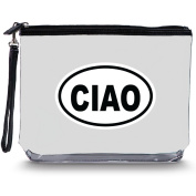 Squeeze Pod Clear Hanging Toiletry Bag - Durable Flight Travel Bag for Accessories, Toiletries, and Cosmetics - CIAO Imprint - 10 Destinations Available