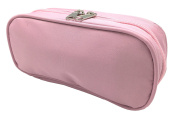 Solid Pink Essential Oil Travel Case and Bag