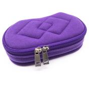 Velvet 5-Bottle Essential Oil Carrying Case Holder Bag Organiser for Travel and Home