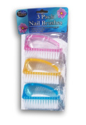 Salon Collections Nail Brushes - Set of 3