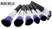 Beau Belle Kabuki Brush Set - 10pcs Makeup Brushes - Professional Makeup Brushes - Makeup Brush Set - Kabuki Makeup Brush Set - Make Up Brushes